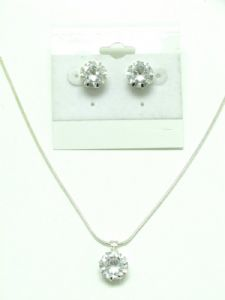 CZ Crystal Stone Necklace